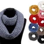 Loop Schal stricken und binden