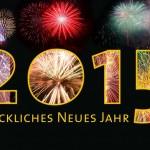Wir wünschen ein frohes Jahr 2015