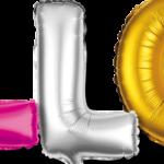 Folienballons für den 18. bis 90. Geburtstag